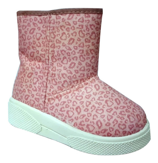 Zapatilla Pantubota Niñas Toy Boot 01 Rosa Talle 20 Al 26