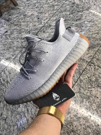 Tênis adidas Yeezy Boost 350 Sesame Importado