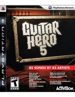 Software De Guitar Hero 5 Stand Alone - Playstation 3 (so