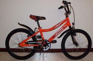 Bicicleta Rodado 20 Bmx Cross Full