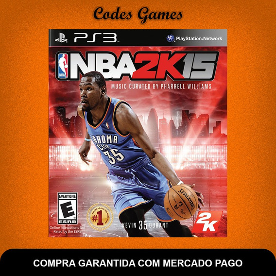 Nba 2k15 - 2015 - Ps3 - Pronta Entrega
