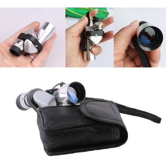 Mini Telescópio Luneta Espião Monocular 8 X 20mm Promoção