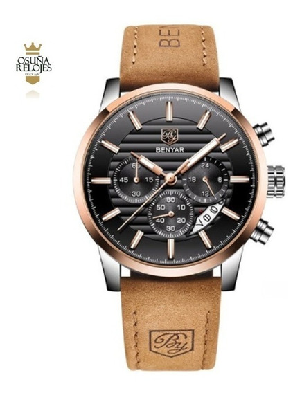 Relógio Masculino Social Benyar Original 100% Funcional