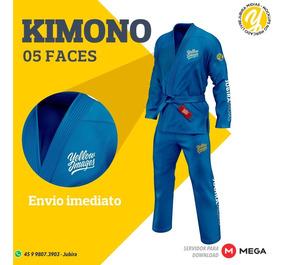 Kimono - Mockups Yellow