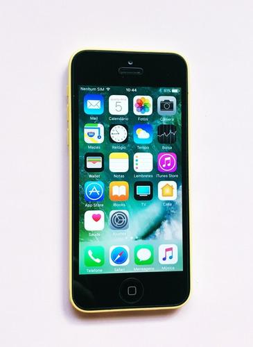 Aparelho iPhone 5c 16gb Desbloqueado Original Usado Q B