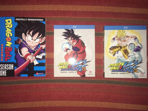 Dvds Dragon Ball + Blu-rays Dbz Kai Funimation Originales