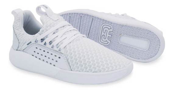 Tênis Hocks Skate Sneaker Le Parc Branco White Confortável Original Masculino E Feminino Promoção Envio Imediato