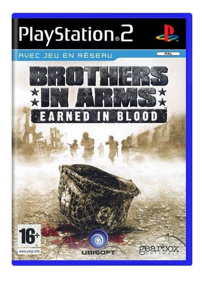 Brothers In Arms Earned In Blood Ps2 Europeu Mídia Física