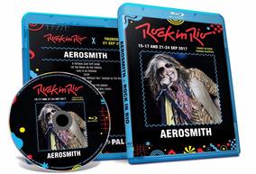 Blu-ray Aerosmith Rock In Rio 2017 Full Cooper Frete Gratis