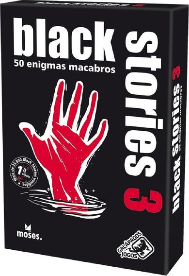 Black Stories 3 - Jogo De Cartas - Galápagos