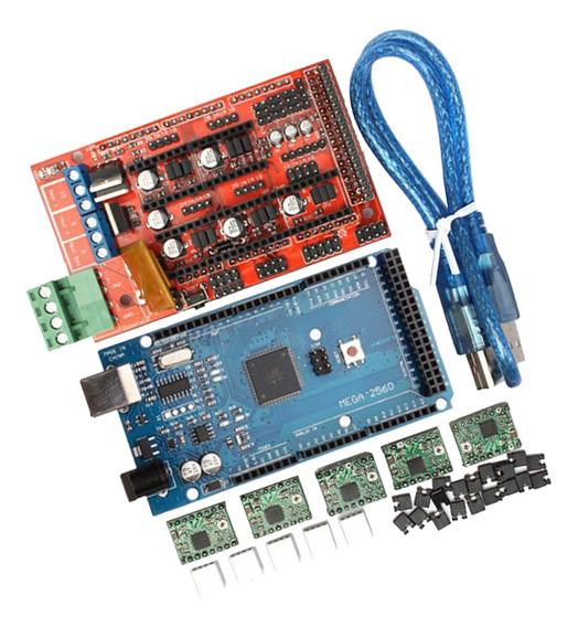 Estojo Impressora 3d Ramps 1.4 + Mega2560 + A4988 + Controla