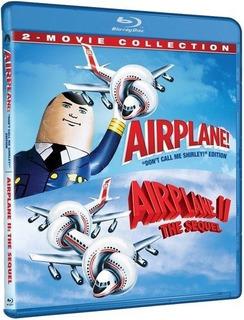 Blu-ray Airplane 1 & 2 / Y Donde Esta El Piloto? 1 & 2