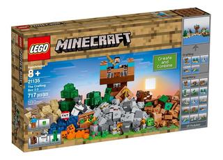 Lego Minecraft - 21135 - The Crafting Box 2.0 - 717 Pcs