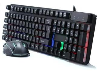 Combo Gamer Fortnite Teclado Mouse Profesional 198i Cmk-188