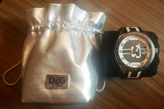 Relógio Dolce & Gabbana Time Original Usado Pronta Entrega