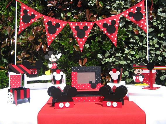 A L Q U I L E R Piezas De Candy Bar Set Mickey Mesa Dulce