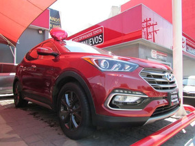 Hyundai Santa Fe 5p Sport L4/2.0/t Aut Rojo 2017