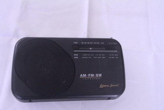 Radio Am/fm Lenoxx Sound Pr 40