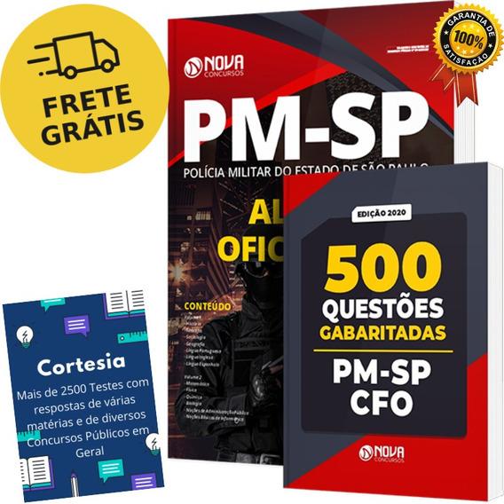 Kit Apostila Cfo Pm Sp - Oficial Pm Barro Branco + Questões