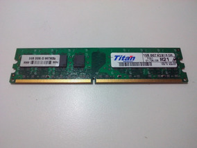 Memória Ram Titan 1gb Ddr2 667mhz (pc)