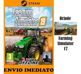 Farming Simulator 19 Pc Steam Original + Dlc + Brinde
