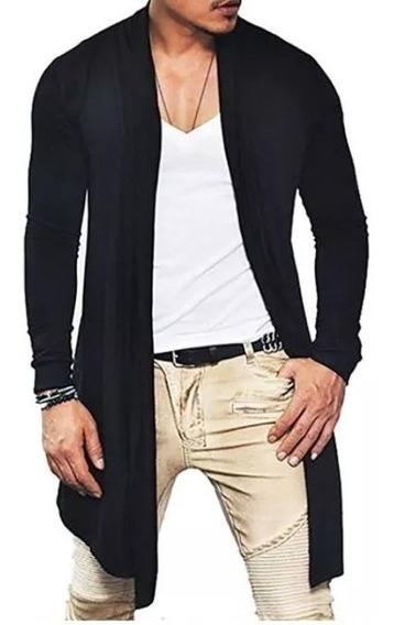 Casaco Cardigan - Sobretudo - Viscolycla Masculino Longo