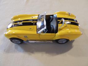 Carrinho Miniatura Shelby Cobra 427 Slc 1965 1/32