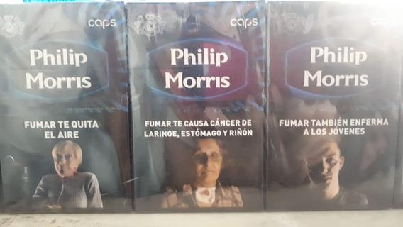 Cigarrillos Philip Morris Caps Box X10 Atados