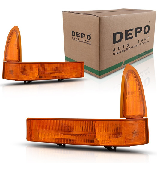 Lanterna Dianteira Pisca Seta F250 F350 98 99 2000 2001 2002