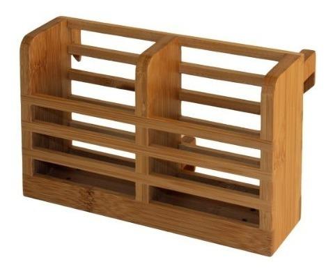 Imagen 1 de 3 de Totally Bamboo Eco Dish Drying Rack Utensilio De Soporte + O