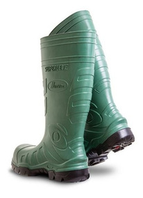 Bota De Borracha Baspan Superleve Verde