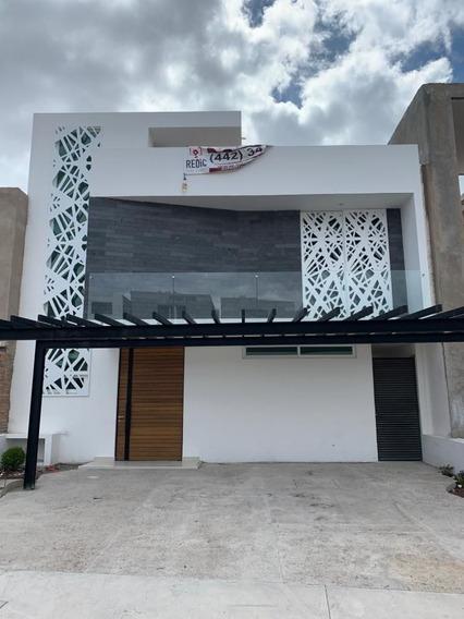 Casa En Venta 3 Hab + Roof Garden En Lomas De Juriquilla Ln