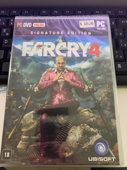 Farcry 4 Signature Edition Pc Original Midia Fisica