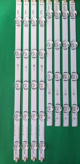 Kit 8 Barras 39ln5400/ 39la6200 / 39ln5700 Novas