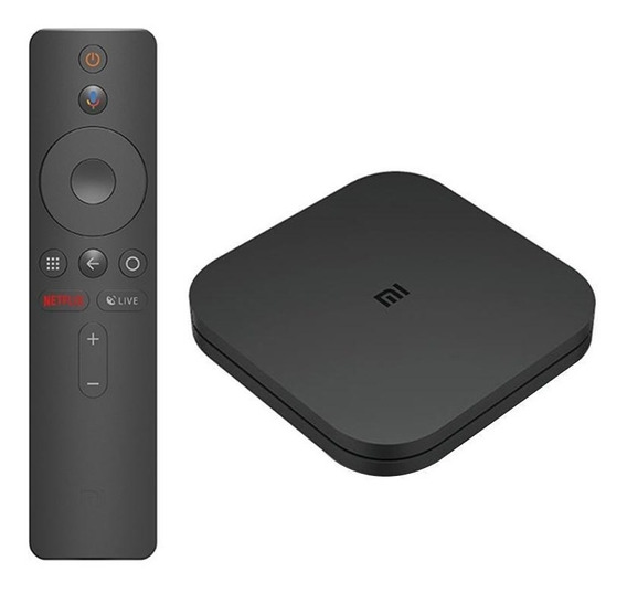 Xiaomi Mi Box S Smart Tv Box Android 4k Uhd Hdr Mdz-22-ab