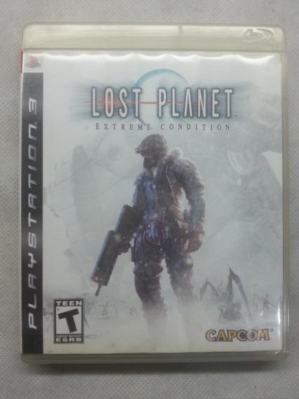 Jogo Ps3 Midia Fisica Usado Original Lost Planet