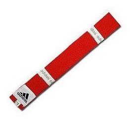Cinturon adidas Rojo Karate-taekwondo(6)