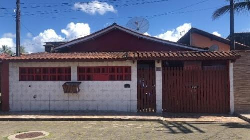 Linda Casa Com Edícula No Suarão Em Itanhaém - 6890 | Npc