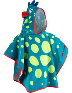 Poncho Para Bebê Com Capuz Roupão Infantil Menino Menina