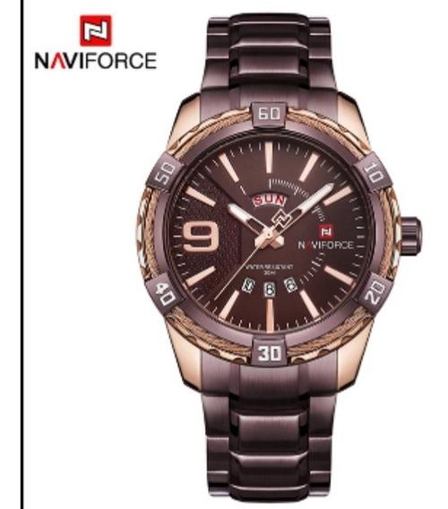 Relógio Masculino Naviforce Modelo Nf9117 Original Luxo