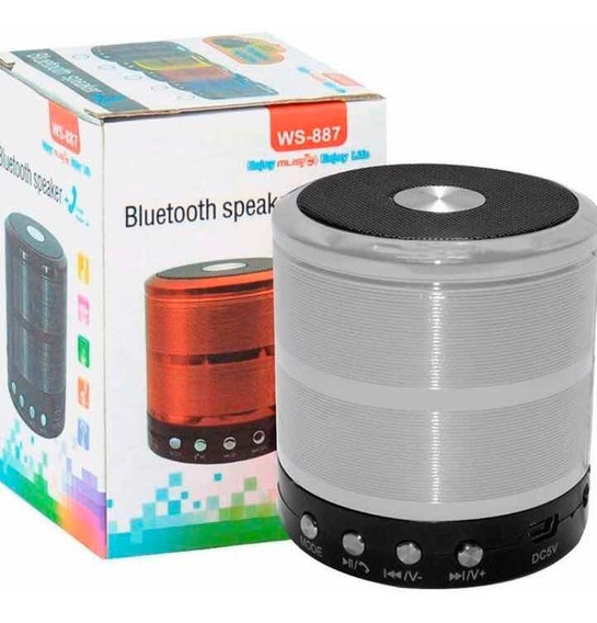 Mini Caixa Caixinha Som Portátil Bluetooth Mp3 Fm Sd Usb