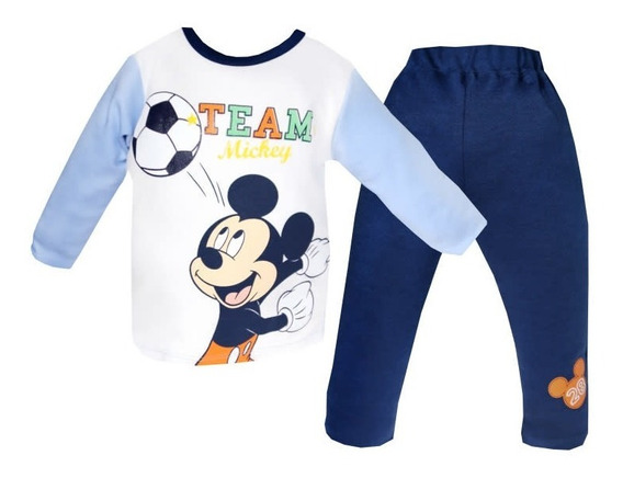 Playera Bb Ideal Disney Pantalon Estampado Mickey