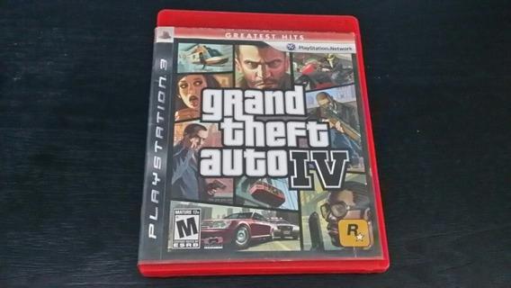 Grand Theft Auto Iv Ps3 Mídia Física