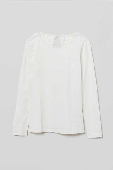 Camiseta Algodón Con Detalle En Espalda