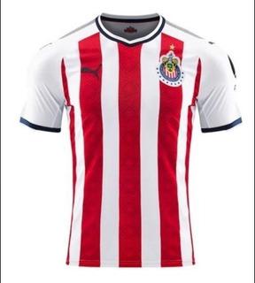 Playera Jersey Puma Chivas Del Guadalajara Local 2018
