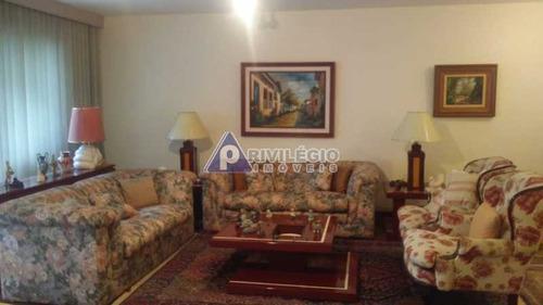 Apartamento À Venda, 3 Quartos, 1 Suíte, 3 Vagas, Leblon - Rio De Janeiro/rj - 22547