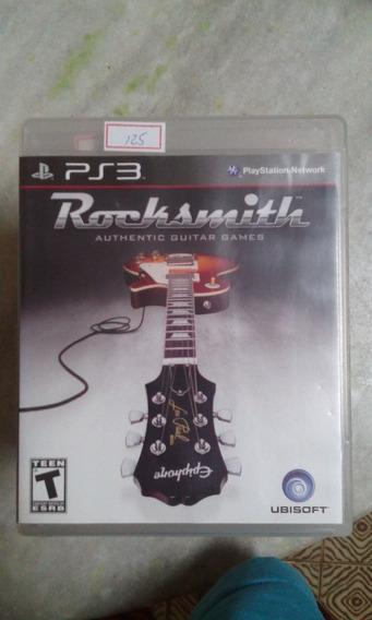 Jogo Sony Ps3 Rocksmith Original Lote125