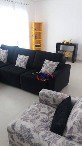 Imagem 1 de 21 de Sobrado Com 3 Dormitórios À Venda,- Vila Lusitânia - Centro - São Bernardo Do Campo/sp - So0509