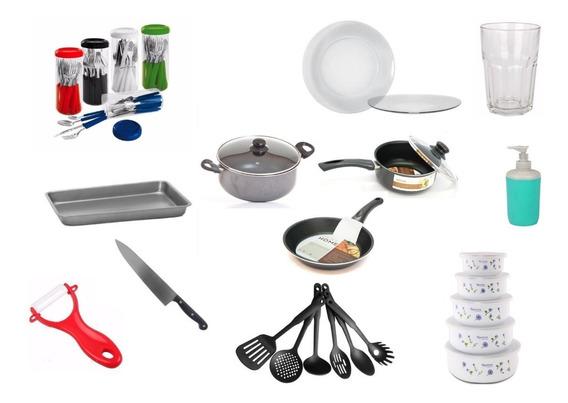 Set Juego Vajilla Completo 95 Pzs Bateria Cocina Kit Pack