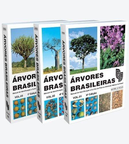 Coleção Árvores Brasileiras - 1,2 E 3 - Novos - Lacrados